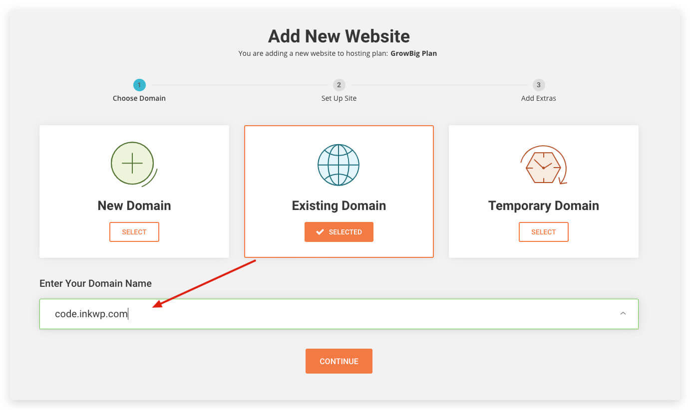 migrate to siteground